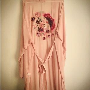 Torrid Embroidered Kimono